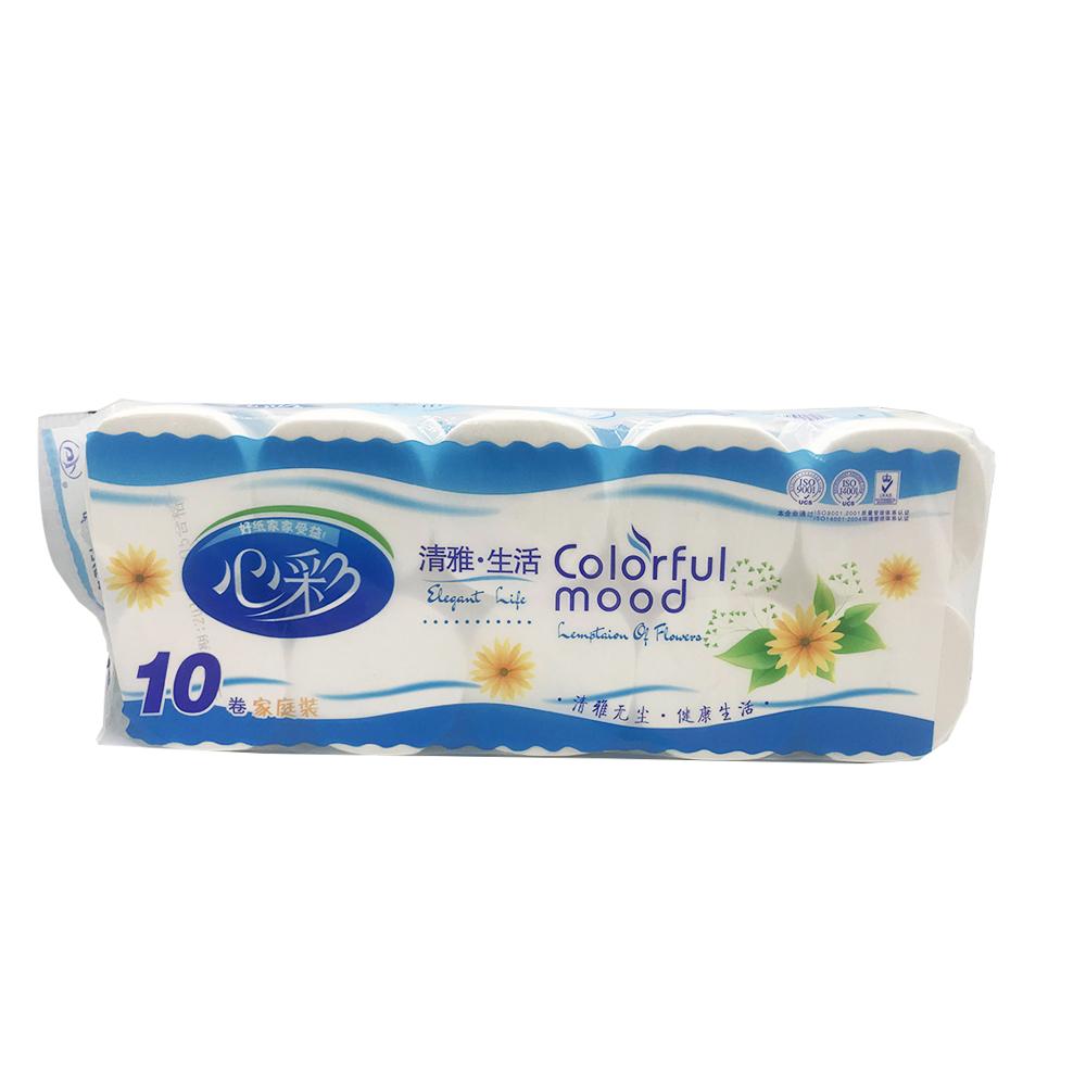 Colorful Mood Bathroom Tissue 10Roll XC-092