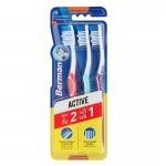 Berman Tri Active Medium Toothbrushes